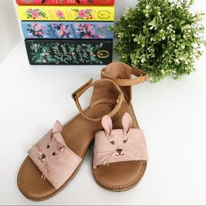 OLD NAVY Mouse Sandals w/ Velcro Straps